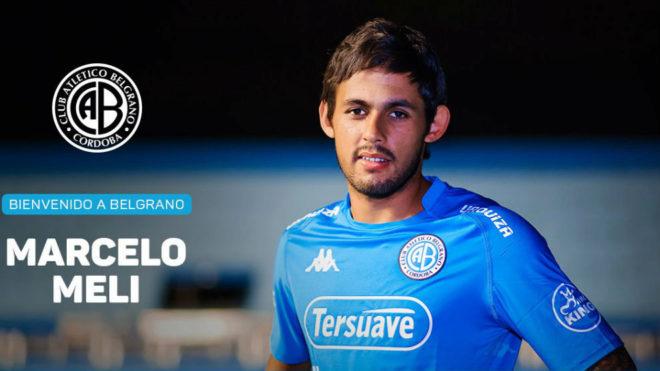Marcelo Meli es nuevo jugador de belgrano