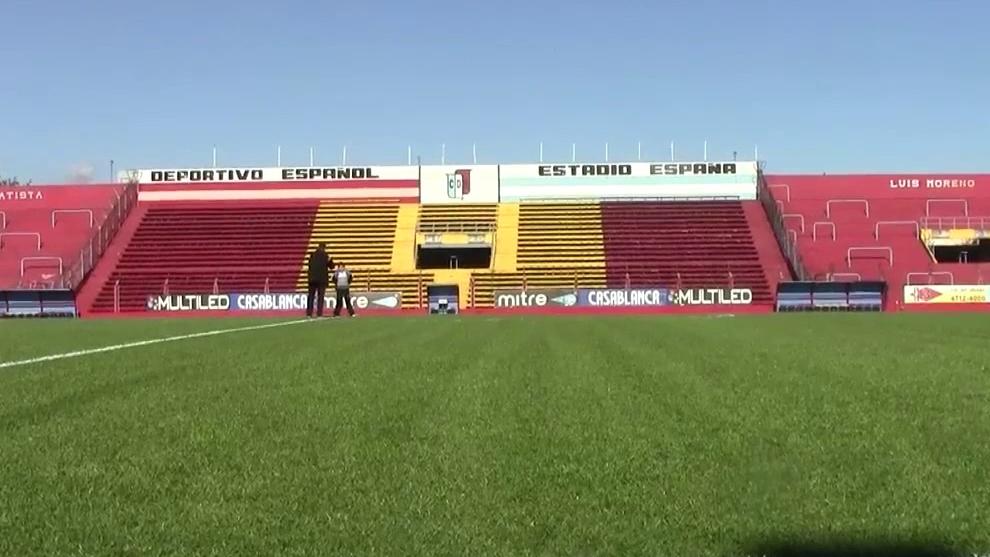 El Estadio Nueva España, escenario de la explosión
