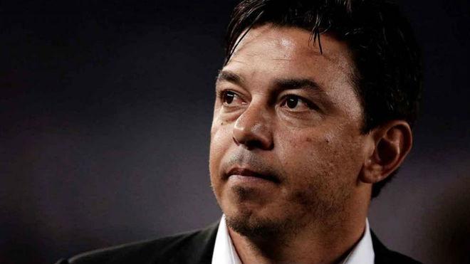 Gallardo habló de la posibilidad de dirigir Argentina.