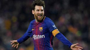Messi y un festejo de gol, algo a lo que nos tienes acostumbrados