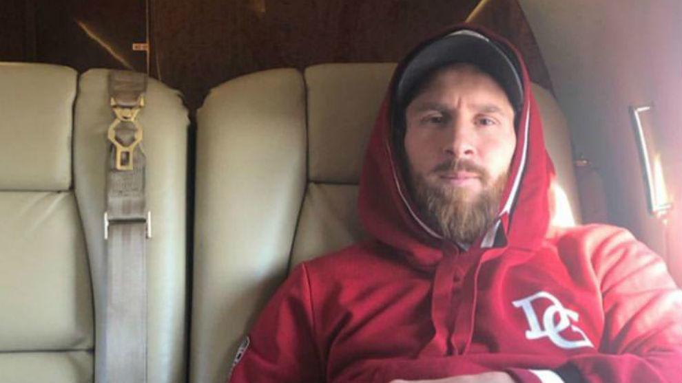 Viaje exprés de Messi a Venecia