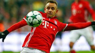 Rafinha juega en el Bayern desde 2011.