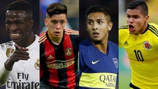 Vinicius Jr, Barco, Almendra y 'Cucho', afuera del...