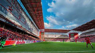 La Bombonera, el estadio del Toluca, nuevo club de Maidana