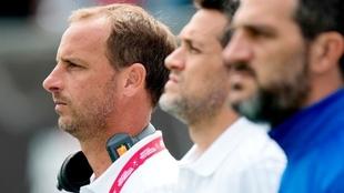 Germán Orozco, director técnico del Seleccionado masculino de...