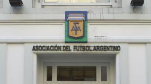 La sede de AFA en la calle Viamonte