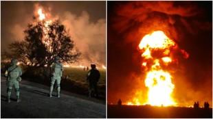 Una explosión en Tlahuelilpan , en Hidalgo, causa al menos 21...