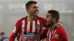 El Atlético Madrid goleó sin problemas al Huesca