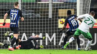 Inter no pasó del empate ante Sassuolo
