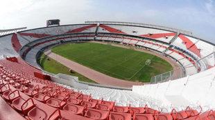 Rodolfo D'Onofrio evalúa si remodelar o hacer un estadio nuevo.
