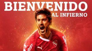 Independiente confirma a Pablo Pérez como refuerzo