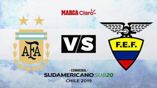 Argentina vs Ecuador: Hora y dónde ver por TV