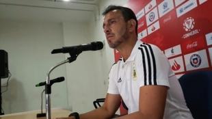 Fernando Batista, director técnico del Seleccionado Sub 20.