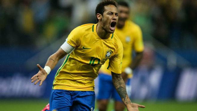 Neymar comandará a Brasil en la Copa América.