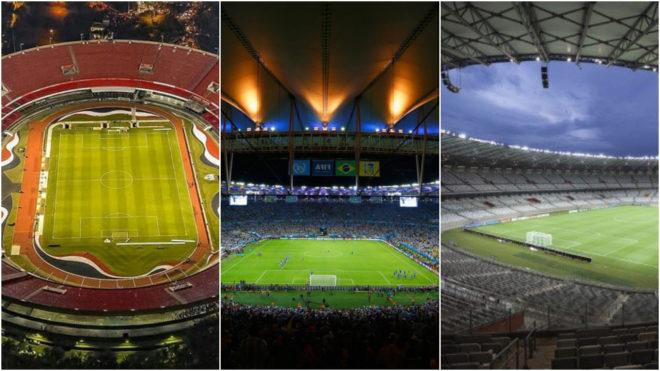 La Copa América empezará en Sao Paulo y terminará en Río de...