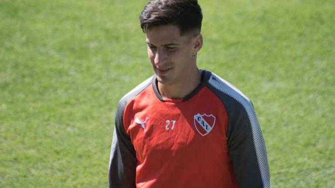 Menéndez volverá a entrenarse en Independiente.