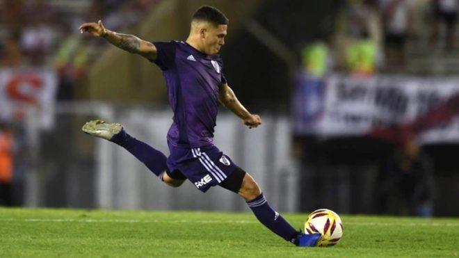 El colombiano Juanfer Quintero es baja para el viaje a Mendoza.