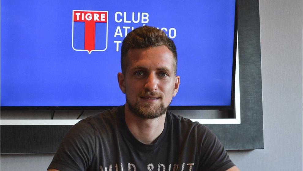 Colazo firmó con Tigre