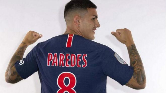 Leandro Paredes firma con el PSG
