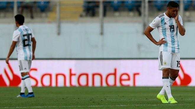 Argentina inicio la segunda fase del Sudamericano Sub 20 con una...