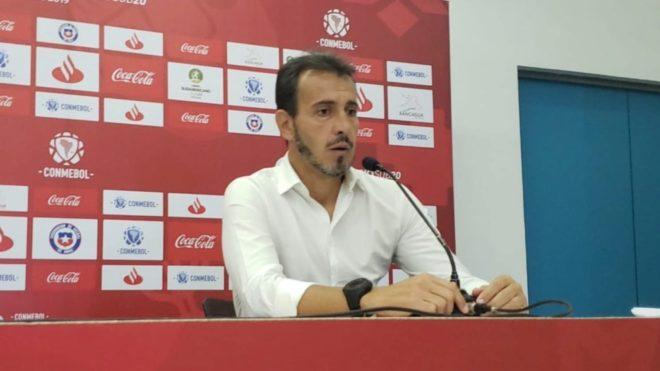 Fernando Batista, director técnico de Argentina.