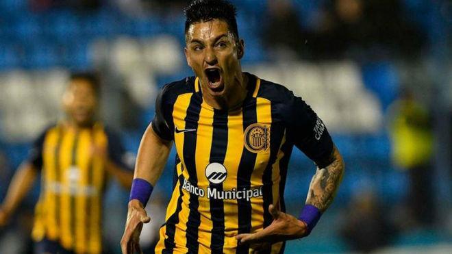 Fernando Zampedri, actual jugador de Rosario Central.