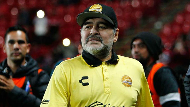 Diego Maradona amenazó a la FIFA