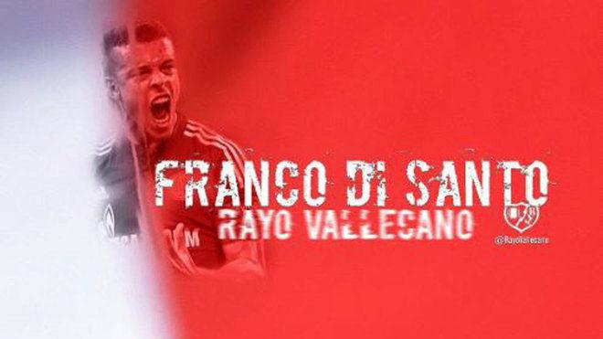 El delantero Franco di Santo firma por el Rayo Vallecano