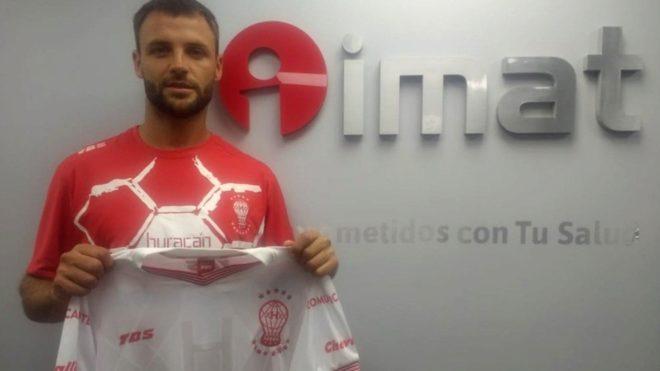 Juan Ignacio Sills, nuevo futbolista de Huracán.