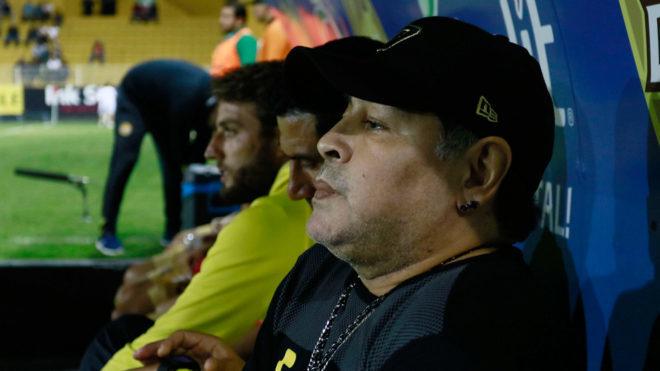 Nueva derrota del equipo de Maradona