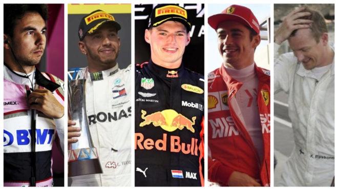 F1, 10 récords que pueden caer en 2019