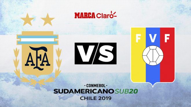 Argentina vs Venezuela: Formaciones, horario y dónde ver por TV la...