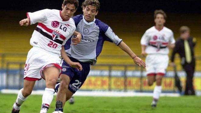 En 2001, Talleres enfrentó al Sao Paulo por la Copa Mercosur.