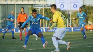 El debut de Barrios en el Zenit