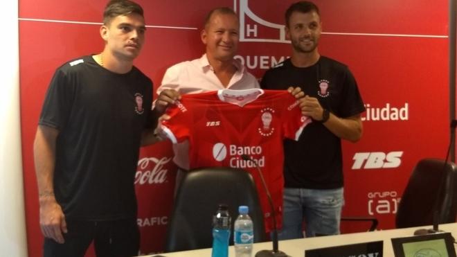 Daniel Hernández y Juan Ignacio Sills, nuevos futbolistas de...