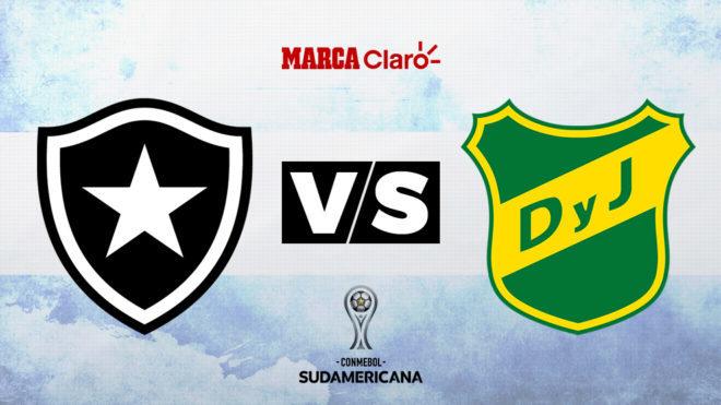 Botafogo vs Defensa y Justicia, por la Copa Sudamericana.