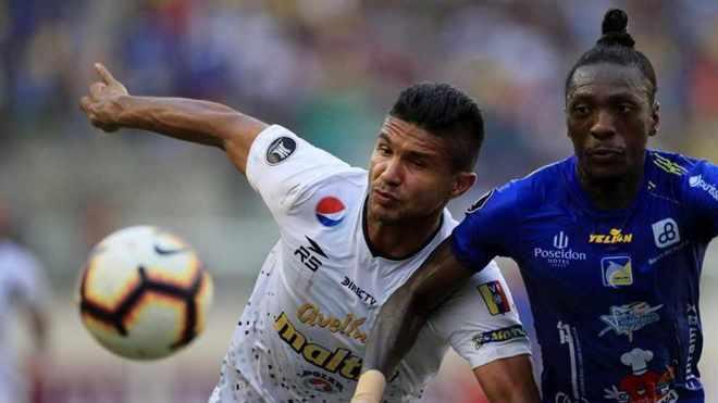 Caracas y Delfín igualaron en el duelo de ida de la segunda fase de...