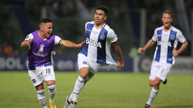 Juan Ramírez autor del primer gol