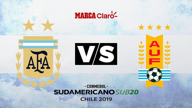 Argentina vs Uruguay, formaciones, hora y dónde ver por TV