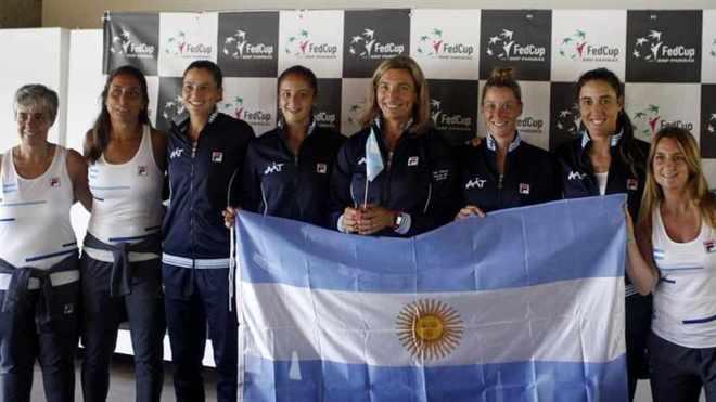 Gran comienzo de Argentina en la Fed Cup