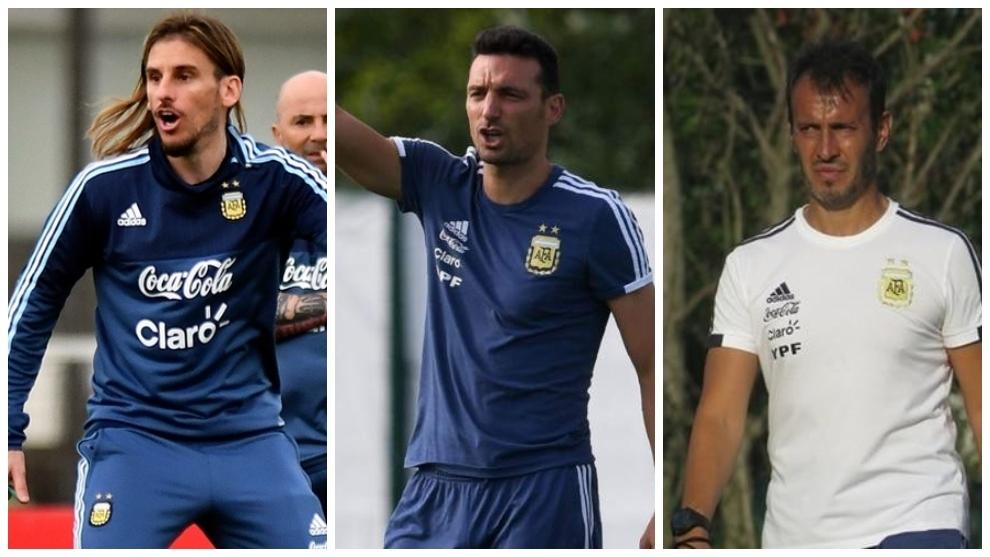 Beccacece, Scaloni y Batista, tres entrenadores en un año y medio