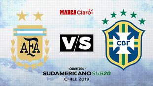 Argentina vs Brasil: Hora y dónde ver por TV la última fecha del...
