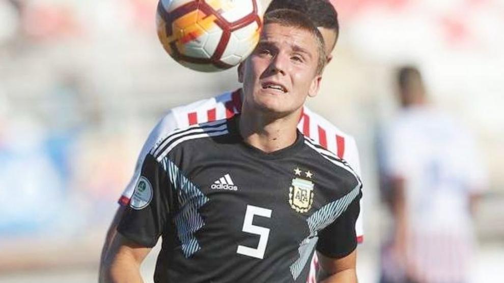 De La Vega en el Sudamericano Sub 20