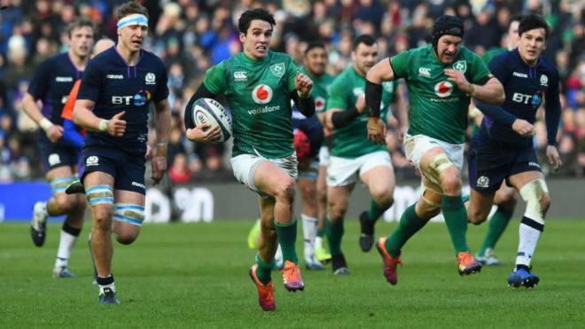 Irlanda renace en Edimburgo y suma su primer triunfo