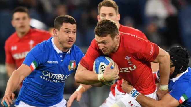 Gales no falla en Roma y amplía su racha triunfal a once partidos
