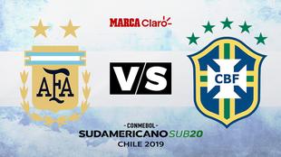 Brasil vs Argentina minuto a minuto
