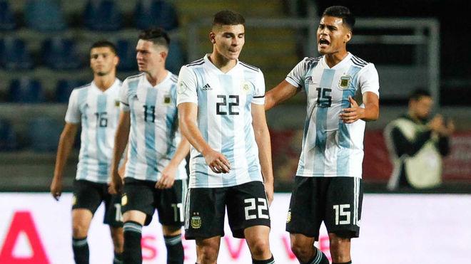 Argentina perdió y no pudo consagrarse en el Sudamericano