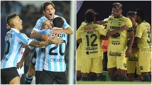Racing y Defensa y Justicia, los líderes de la Superliga