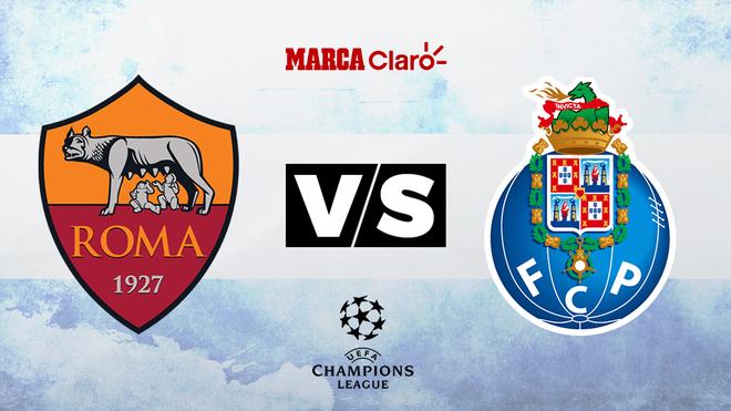 Roma vs Porto, formaciones, hora y dónde ver por TV