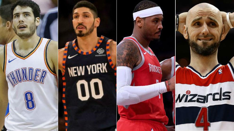 Los agentes libres que todavía se pueden fichar en la NBA
